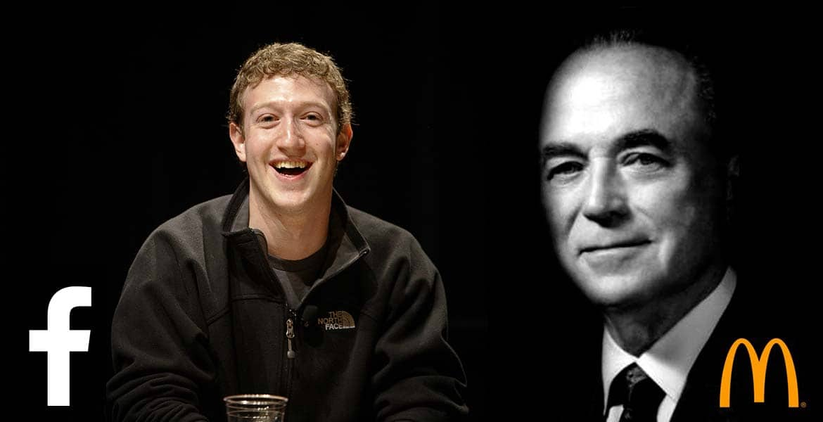 Mark Zuckerberg & Ray Kroc - KloudKafe