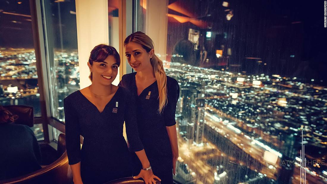 At.Mosphere: When it comes to sky-high dining, there's one place that stands above the rest, literally. On the 122nd floor, At.Mosphere at the Burj Khalifa has some of the most fantastic evening views in the world.