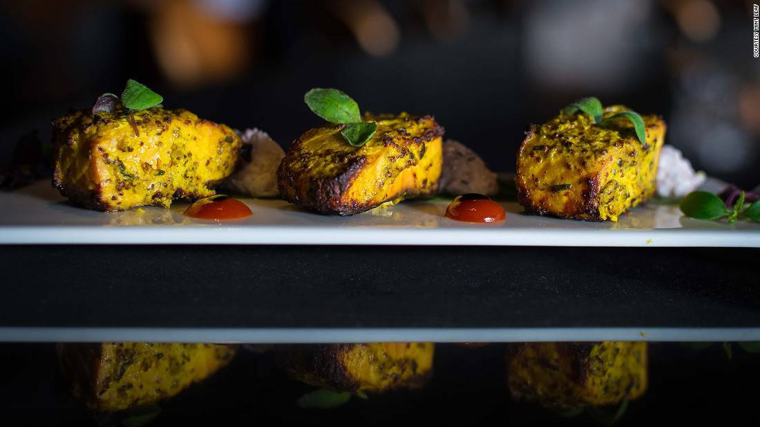 Mint Leaf: Mint Leaf is the place for upmarket Indian food and live DJ music in the evening.